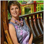 Одежда ручной работы. Ярмарка Мастеров - ручная работа Платье  - летний войлок. Handmade.