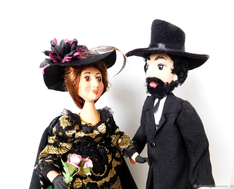 Коллекционные куклы ручной работы. Ярмарка Мастеров - ручная работа. Купить ВСТРЕЧА ПЕРЕД КОНЦЕРТОМ авторская кукольная композиция. Handmade.
