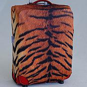 "Сумки и аксессуары handmade. Livemaster - original item Luggage cover ""Tiger skin"". Handmade."
