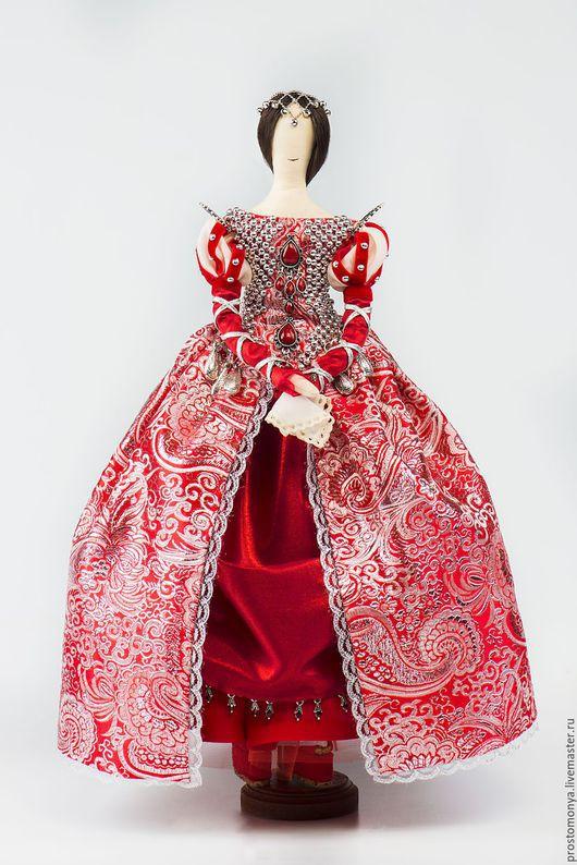Коллекционные куклы ручной работы. Ярмарка Мастеров - ручная работа. Купить Моня в образе знатной дамы Италии, XVI век. Handmade.