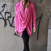 Одежда handmade. Livemaster - original item A bright, knit tunic long sleeve - TP0492TR. Handmade.
