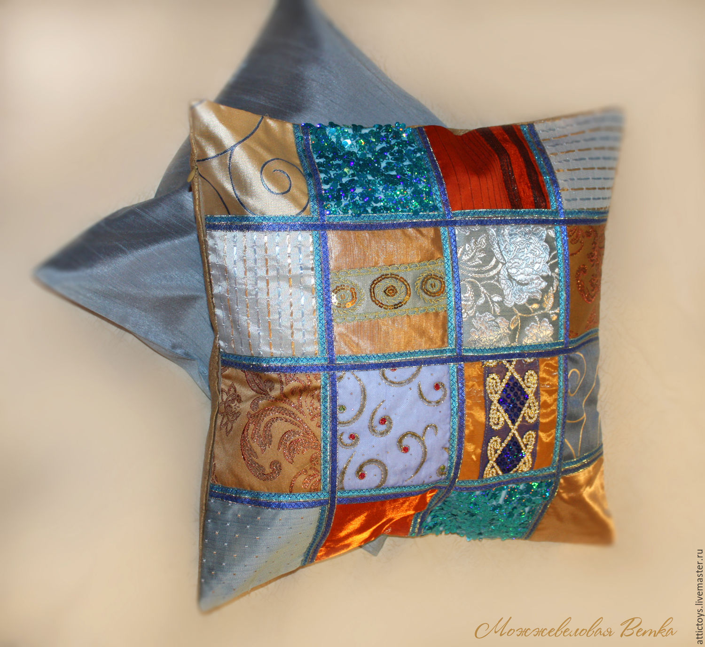 Маленькие декоративные подушки своими руками фото