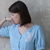 Материалы для творчества handmade. Livemaster - original item Lace motif for decoration. Handmade.