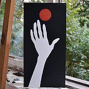 Картины и панно ручной работы. Ярмарка Мастеров - ручная работа картина 2/3 из серии scarlet. Handmade.