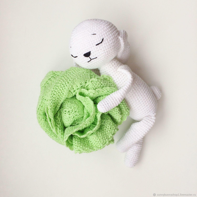 Плед для малыша вязаный плед подарок новорожденному, Пледы, Краснодар, Фото №1