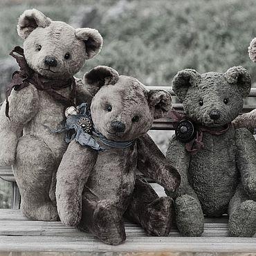 Куклы и игрушки ручной работы. Ярмарка Мастеров - ручная работа Мишка Тедди Советский (выкройка 50-70 годов). Handmade.