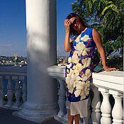 """Одежда ручной работы. Ярмарка Мастеров - ручная работа Платье """" В стране магнолий"""". Handmade."""