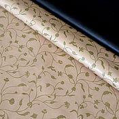 Материалы для творчества handmade. Livemaster - original item Pearl beige bilateral genuine leather 0,4 mm. Handmade.