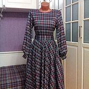 Одежда ручной работы. Ярмарка Мастеров - ручная работа - 25 %Последний размер Трикотажное платье миди Эвелин. Handmade.