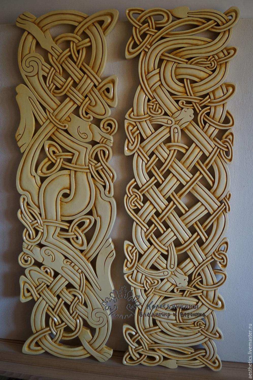 Panels wooden Celtic motifs, Pictures, Rostov,  Фото №1