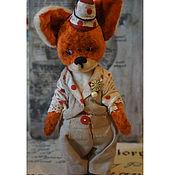 Куклы и игрушки ручной работы. Ярмарка Мастеров - ручная работа Джони, Джони..., тедди-лис. Handmade.