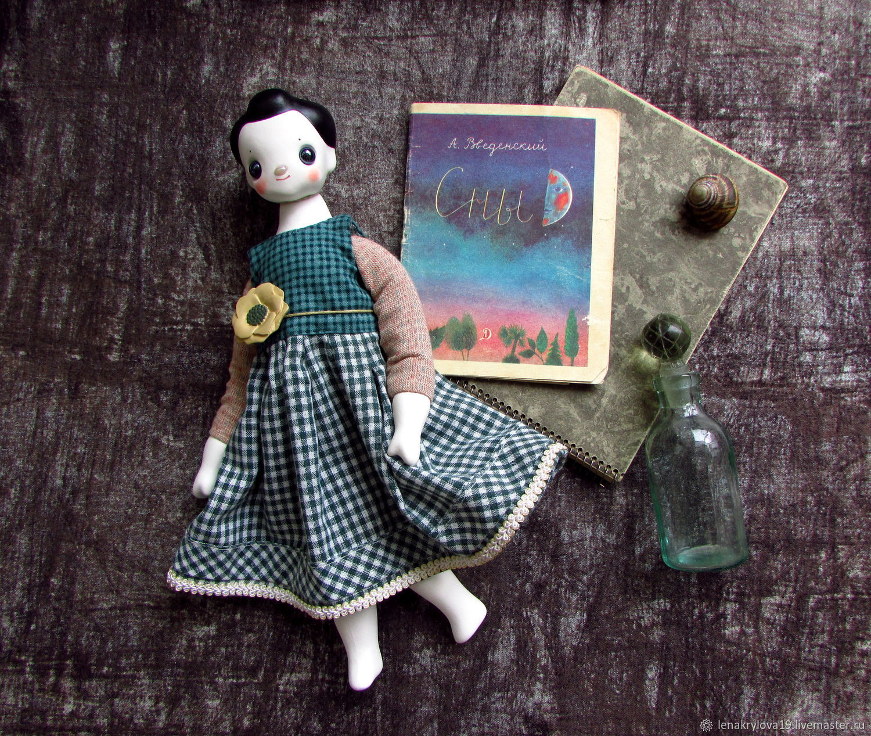 Кукла Мори №4 Iowa Анемон Клетчатое платье, Аниме, Москва, Фото №1
