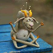 Куклы и игрушки ручной работы. Ярмарка Мастеров - ручная работа Я спокоен.... Handmade.