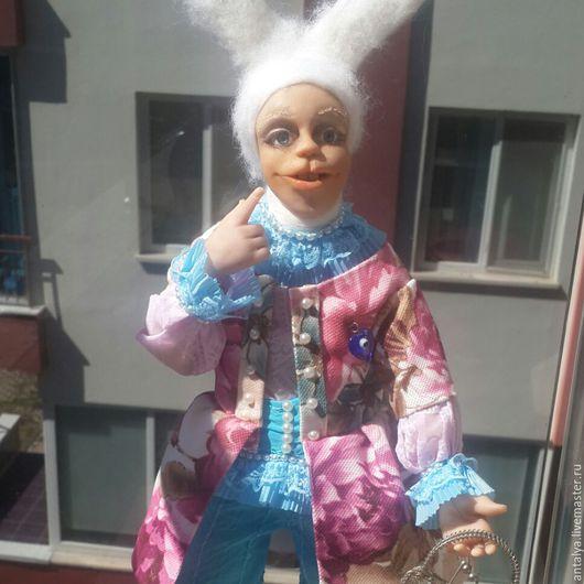 Коллекционные куклы ручной работы. Ярмарка Мастеров - ручная работа. Купить авторская работа. Handmade. Белый, натуральная шерсть