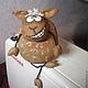 Ароматизированные куклы ручной работы. Ярмарка Мастеров - ручная работа. Купить кофейный барашек. Handmade. Овечка, ароматный подарок, пряжа