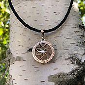 Украшения handmade. Livemaster - original item Pendant / Amulet Alatyr from gold of 585. Handmade.