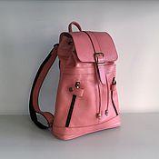 Сумки и аксессуары handmade. Livemaster - original item Backpack leather 130. Handmade.