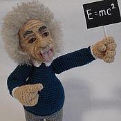 Куклы и игрушки ручной работы. Ярмарка Мастеров - ручная работа Портретная кукла Энштейн. Handmade.