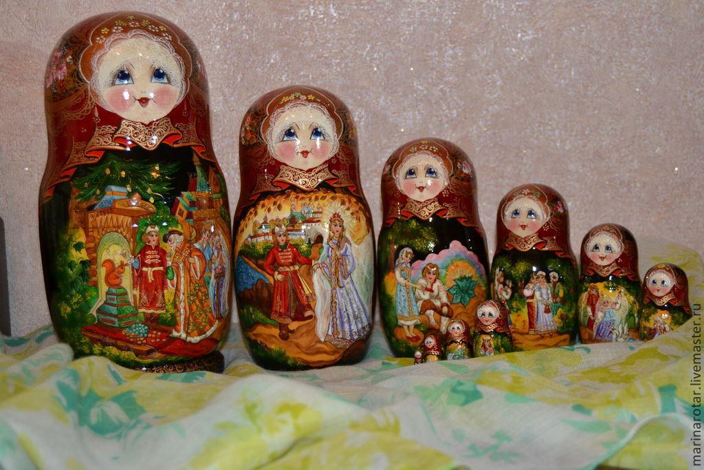 Русские сказки, 10 мест, Матрешки, Сергиев Посад, Фото №1