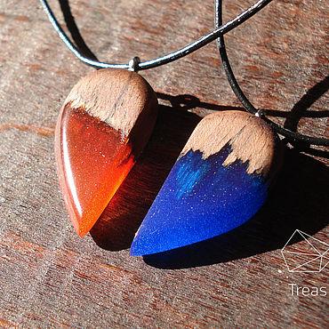 Decorations handmade. Livemaster - original item Pair pendant