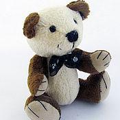 Куклы и игрушки ручной работы. Ярмарка Мастеров - ручная работа Мишка тедди  Чарли (10 см). Handmade.