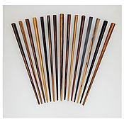 Украшения handmade. Livemaster - original item Hair barrettes made of wood. Handmade.