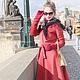 """Верхняя одежда ручной работы. Пальто """"Signorina"""", зима. Ciao, Bella!  женственная одежда. Интернет-магазин Ярмарка Мастеров."""