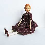 Куклы и игрушки handmade. Livemaster - original item Custom movable doll in mixed media Mary. Handmade.