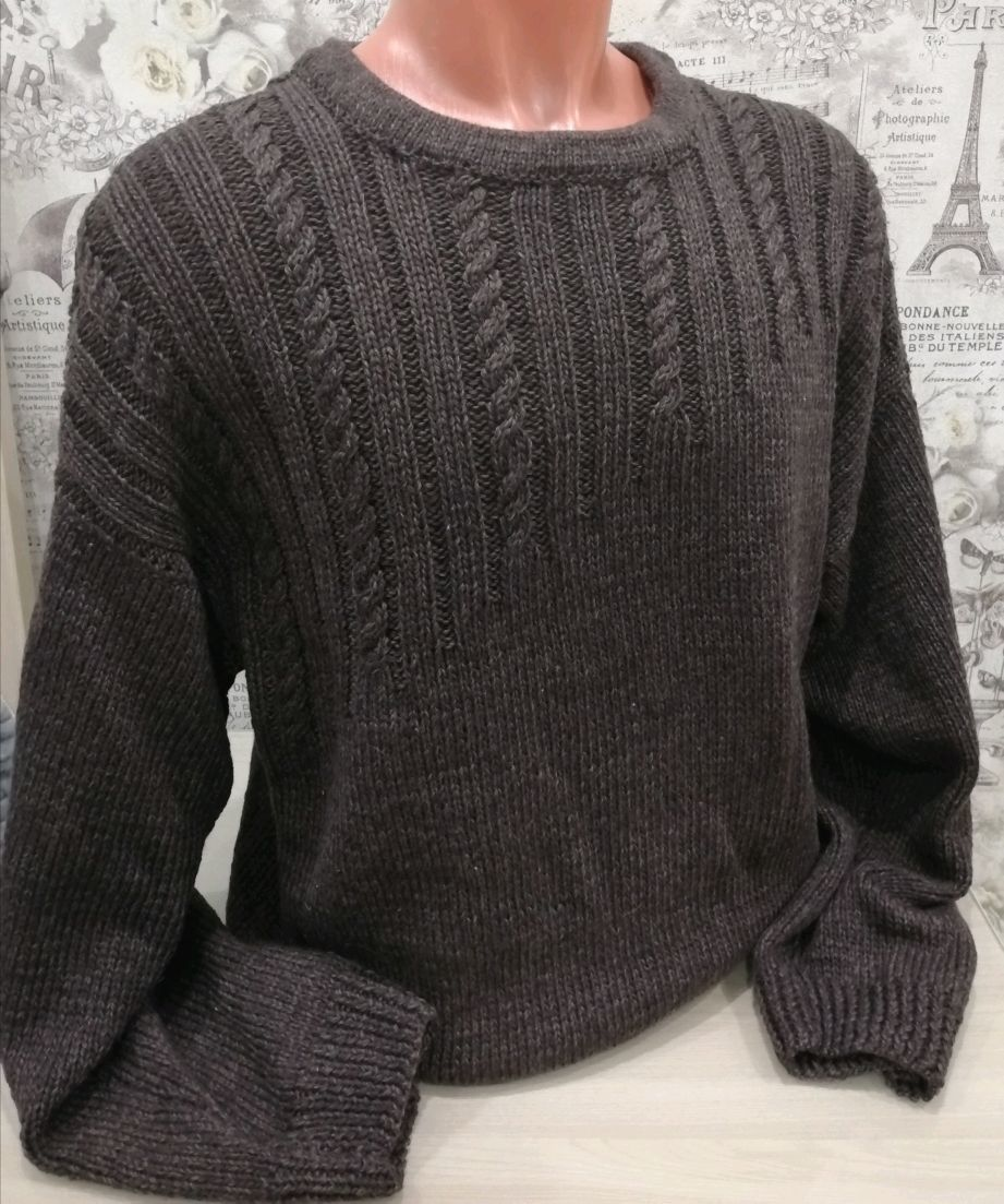 Мужской свитер Классика, Свитеры мужские, Алексин,  Фото №1