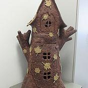 Куклы и игрушки ручной работы. Ярмарка Мастеров - ручная работа Кукольный домик (домик Эльфа). Handmade.
