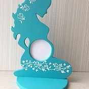 Подарки к праздникам ручной работы. Ярмарка Мастеров - ручная работа Фоторамка для беременных. Handmade.