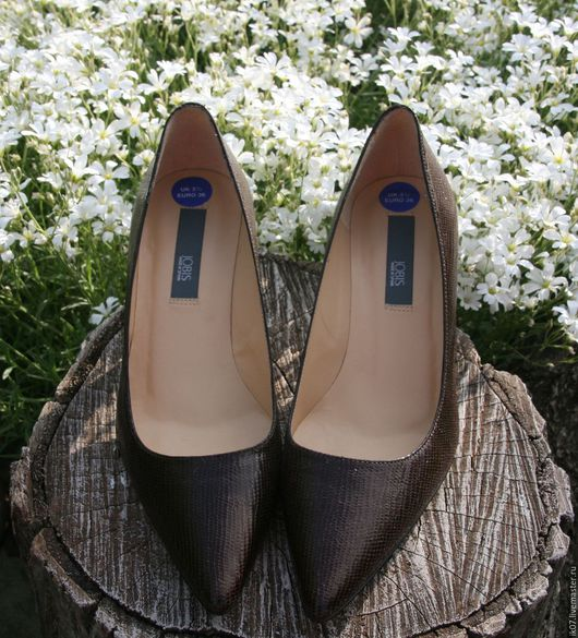 Винтажная обувь. Ярмарка Мастеров - ручная работа. Купить Туфли Кожаные Классические. Handmade. Купить, туфли кожаные, туфли классические