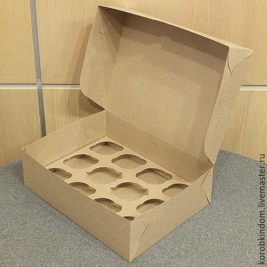 Упаковка ручной работы. Ярмарка Мастеров - ручная работа. Купить Коробочка 33х25х10 см крафт. Handmade. Коробочка, коробка для бижутерии