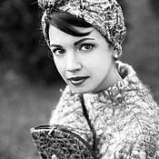 Аксессуары handmade. Livemaster - original item Women`s turban from the Echo collection
