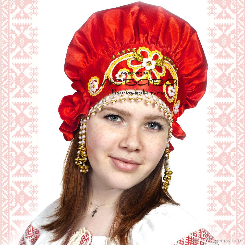 Кичка ( для замужней женщины), Народные костюмы, Королев, Фото №1