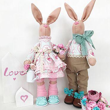 Куклы и игрушки ручной работы. Ярмарка Мастеров - ручная работа Заяц интерьерный. Handmade.