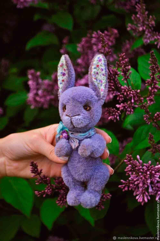 Мини-кролик Флёр (18,5см), Тедди Зверята, Москва,  Фото №1