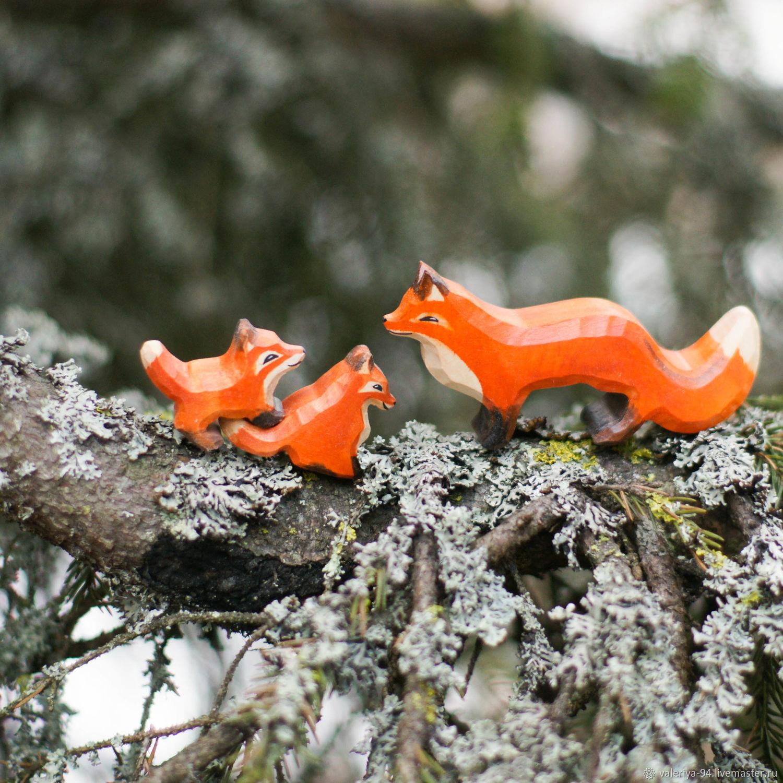 Лисичкина семья, Вальдорфские куклы и звери, Суоярви,  Фото №1