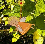 Куклы и игрушки ручной работы. Ярмарка Мастеров - ручная работа Ангелочек - подвеска. Handmade.