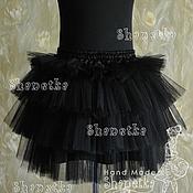Одежда handmade. Livemaster - original item The skirt is tutu of tulle adult night. Handmade.
