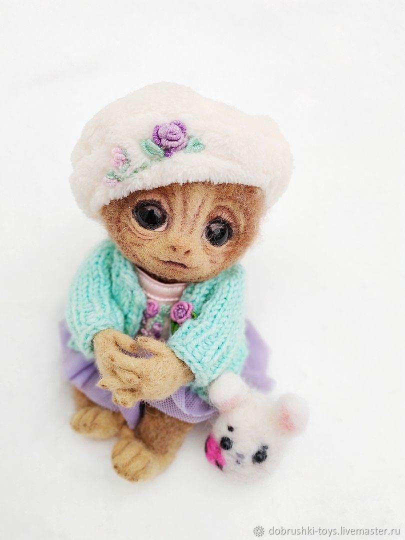 felt toy: Little Maya, Felted Toy, Ekaterinburg,  Фото №1