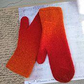 Аксессуары handmade. Livemaster - original item Mittens knitted without decor. Handmade.