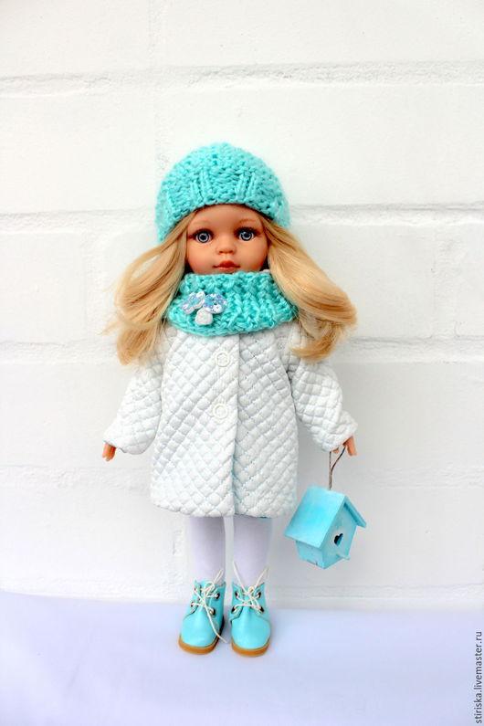 Одежда для кукол ручной работы. Ярмарка Мастеров - ручная работа. Купить Утепленный комплект одежды для кукол Paola Reina. Handmade.