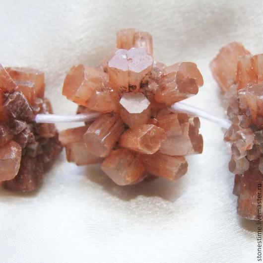 Для украшений ручной работы. Ярмарка Мастеров - ручная работа. Купить АРАГОНИТ бусины природные кристаллы нить. Handmade. Для украшений