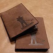 Подарки к праздникам ручной работы. Ярмарка Мастеров - ручная работа Обложка для авто документов и паспорта. Handmade.