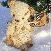 Материалы для творчества handmade. Livemaster - original item Free pattern - Teddy bear Luz. Handmade.