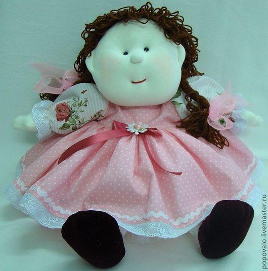 Человечки ручной работы. Ярмарка Мастеров - ручная работа. Купить Кукла текстильная. Handmade. Авторская кукла, куклы и игрушки, бязь