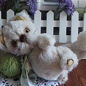 Куклы и игрушки handmade. Livemaster - original item teddy the cat louis. Handmade.
