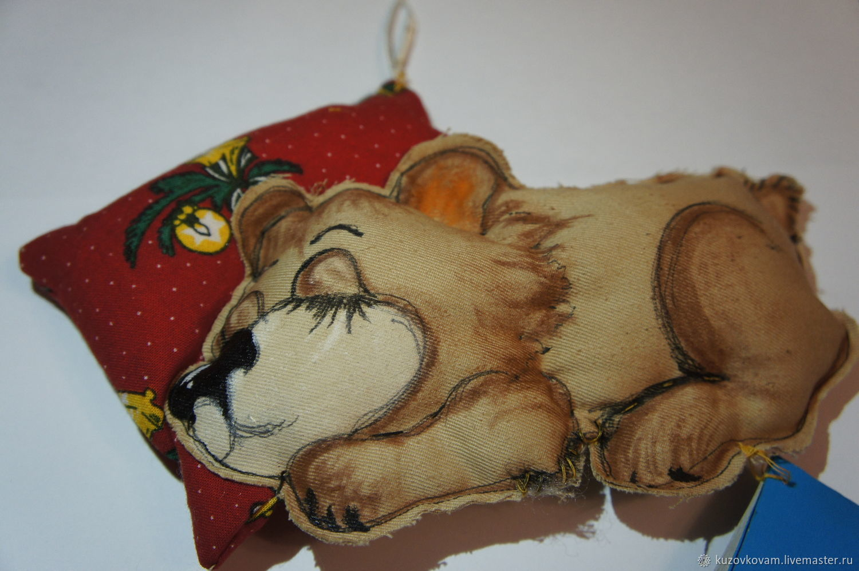спящий мишка, Мягкие игрушки, Москва,  Фото №1