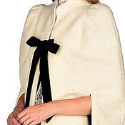 Одежда ручной работы. Ярмарка Мастеров - ручная работа Кейп из нежного кашемира. Handmade.